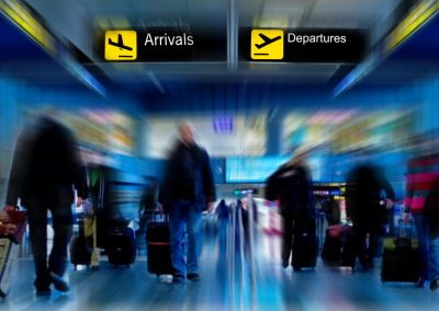Developing an Operating Model for Airport Arrivals Processing